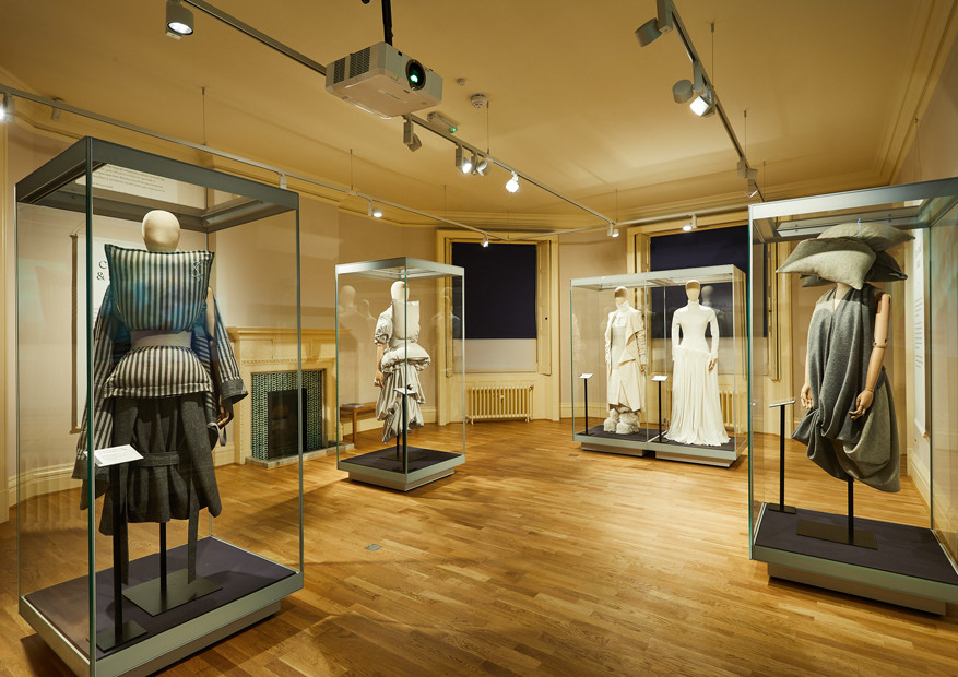 Lotherton Hall Museum Exhibition Contemporary Fashion Forward