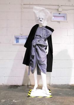 Exhibition at London Fashion Week