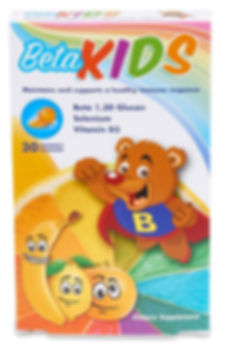 Beta Kids - Beta Glucan Chewables For Kids