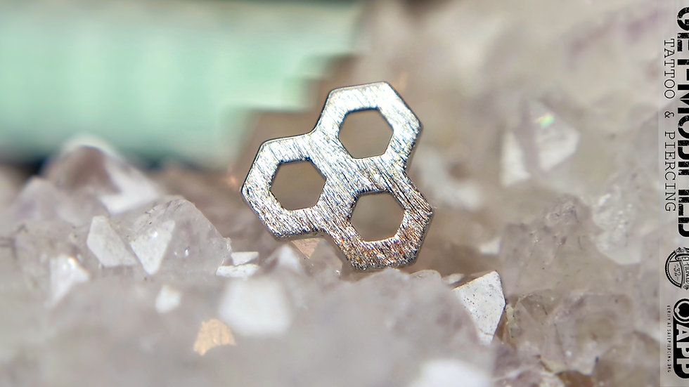 Tish Lyon Honeycomb in 14ct Solid Gold