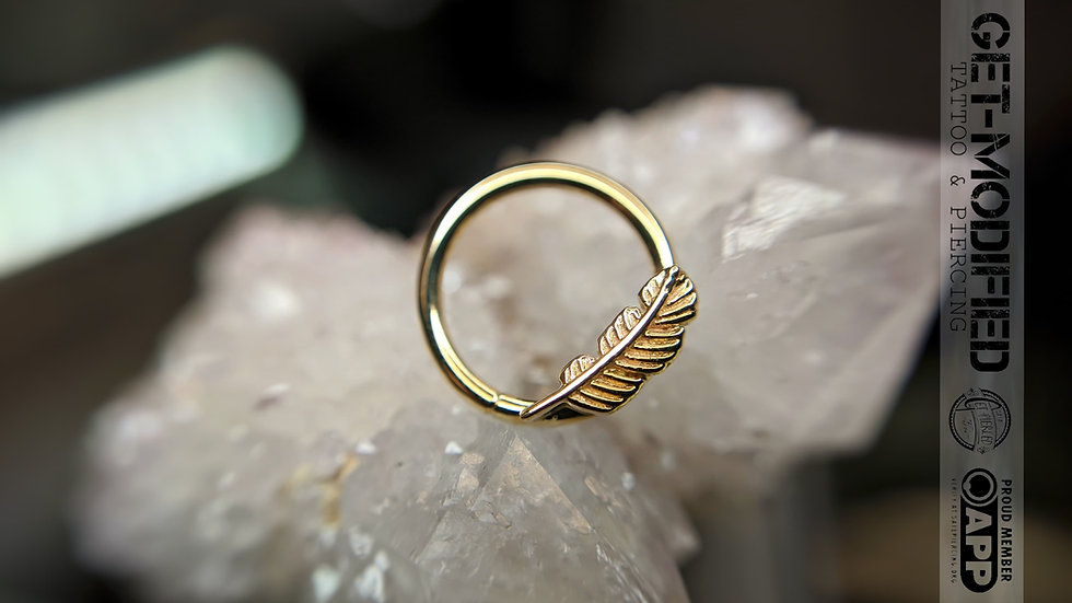"BVLA 3/8"" Feather Seam Ring"