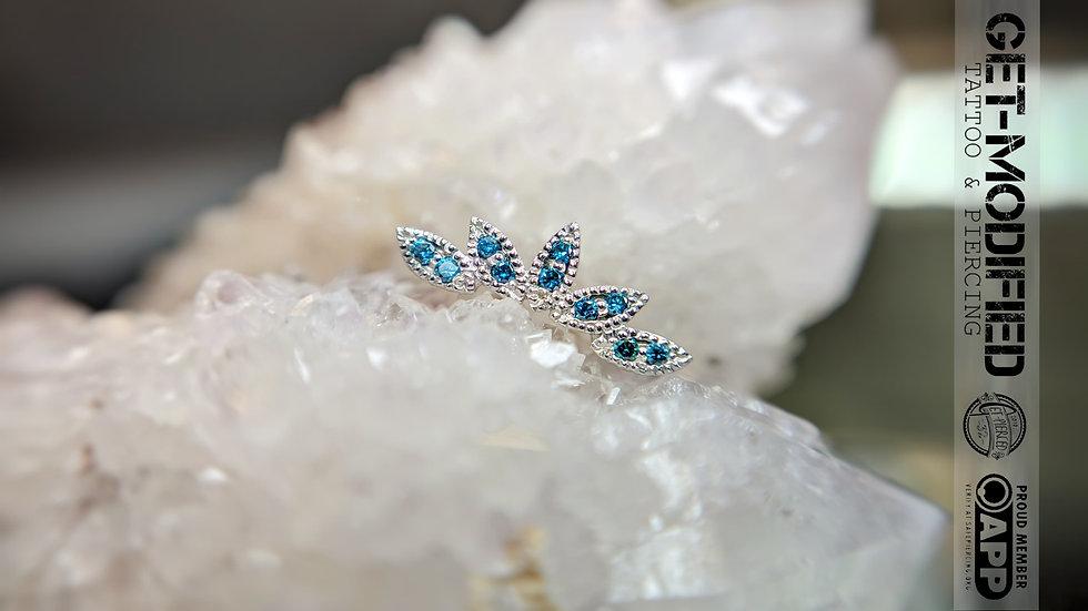 BVLA Serenity Ocean Blue Diamond