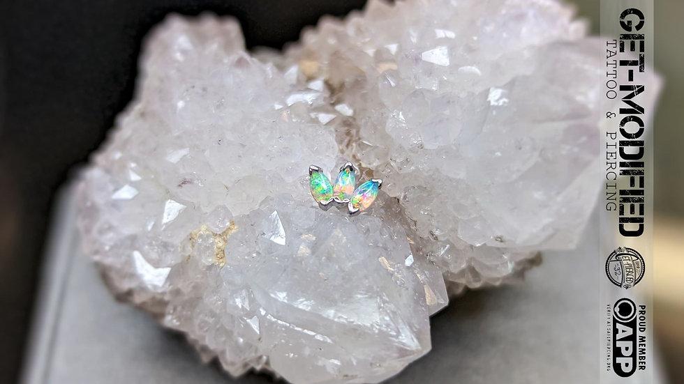 BVLA Triple Marquise Fan (AAA) Opal