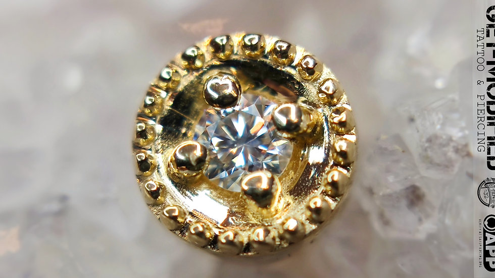 BVLA Round Harlequin (VS) 2mm Diamond