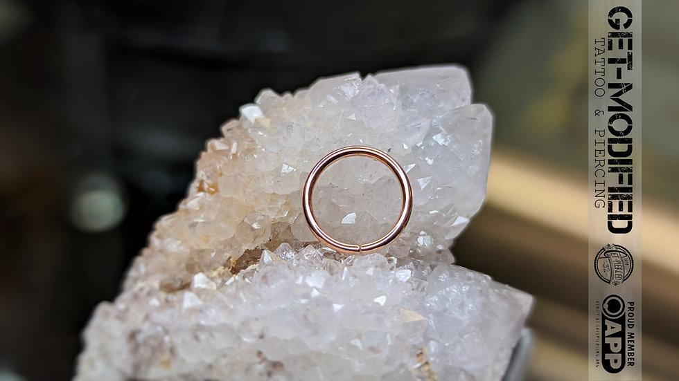 Classic Gold Seam Ring 1mm/18g