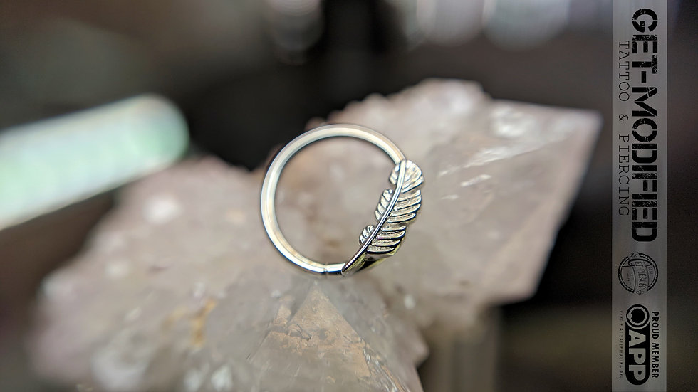 """BVLA 3/8"""" Feather Seam Ring"""