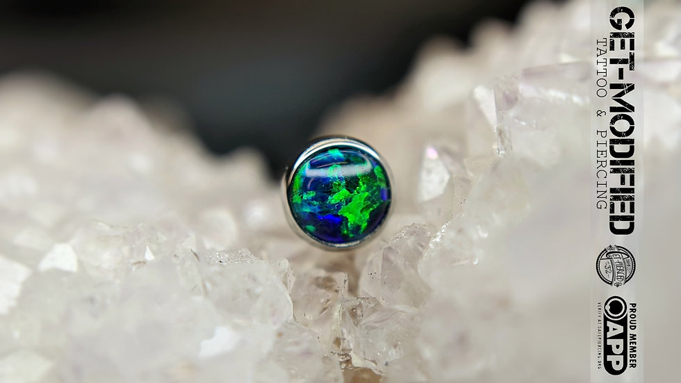 Industrial Strength 4mm Faux Pal Cabochon
