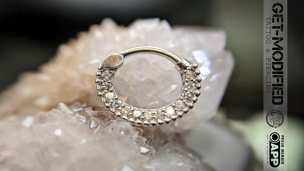 Tish Lyon Pave Diamond Clicker