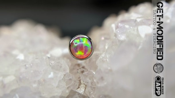 Industrial Strength 3mm Faux Pal Cabochon