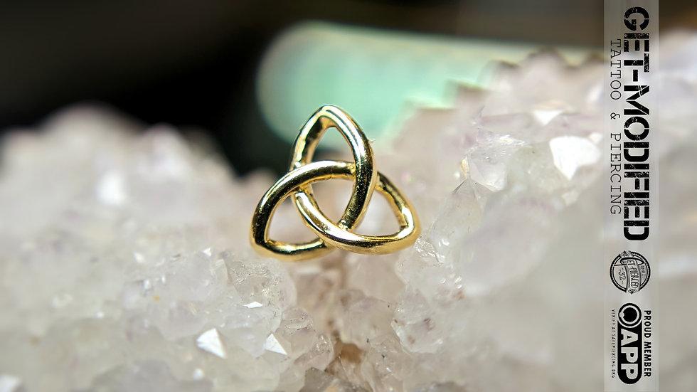 Junipurr Celtic Knot in 14ct Gold