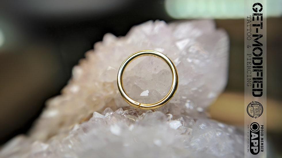 Classic Gold Seam Ring 0.8mm/20g