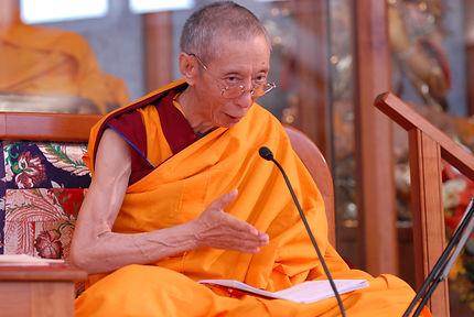 Geshe Kelsang Menlha Kadampa Gyatso Rinpoche Buddhist Center