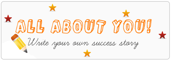 All About You! Write your own success story