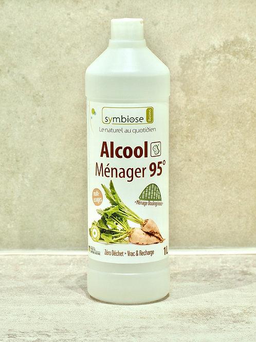 Alcool Ménager 95°  Ménage Boulingrinois le litre