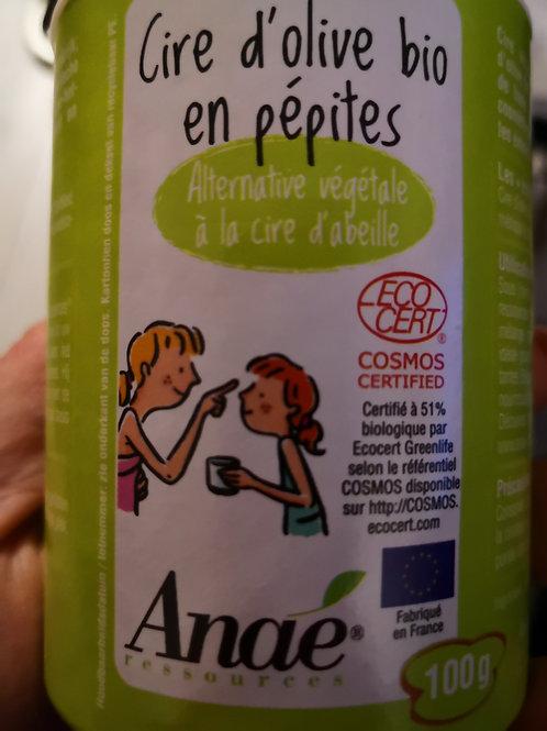 Cire d'olive  bio en pépites 100gr