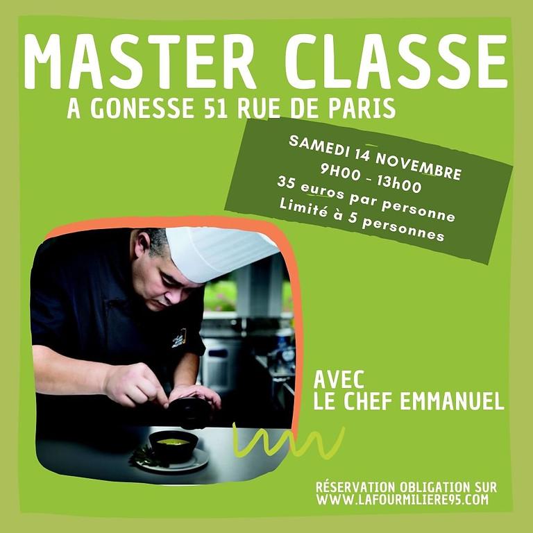 1ER MASTERCLASSE cuisine