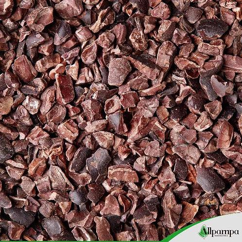 Eclats de féves de cacao cru - Grué