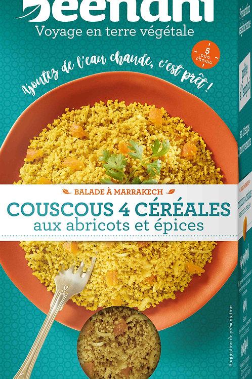 Couscous aux céréales abricot et épices