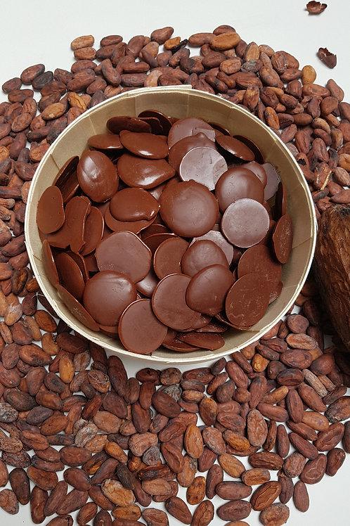 Pistolles chocolat lait bean to bar min 53%