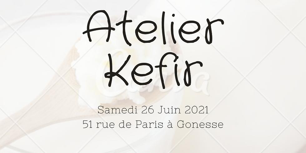 Atelier Kéfir avec Aurélie Gratuit