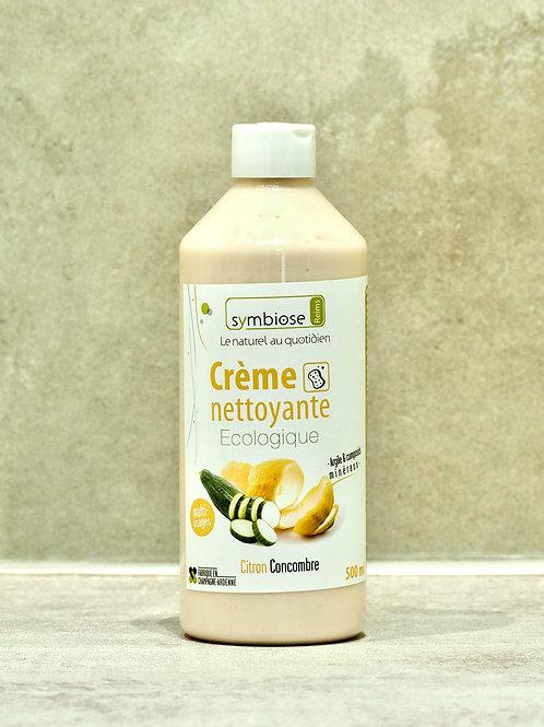 Crème nettoyante écologique parfum Citron Concombre