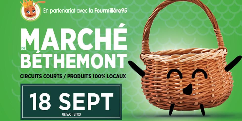 Marché de Béthemont la Forêt
