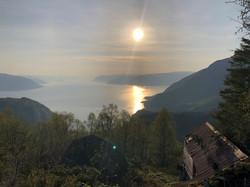Nydelig morgen på fjellet