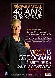 Samedi 10 octobre 2015- 40 ans de chansons à Codognan