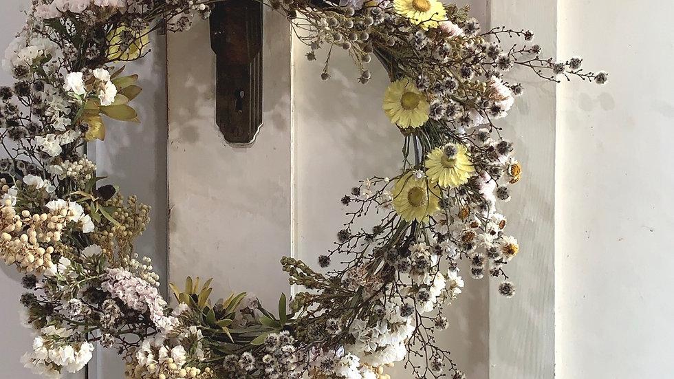 Wildflower sweet everlasting wreath
