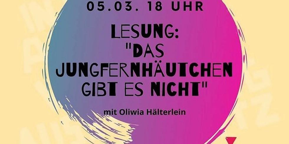 VULVA ME Lesung von Chemnitz in die Welt am Freitag 05.03.21