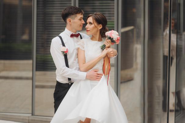 Свадебная прогулка Кости и Насти