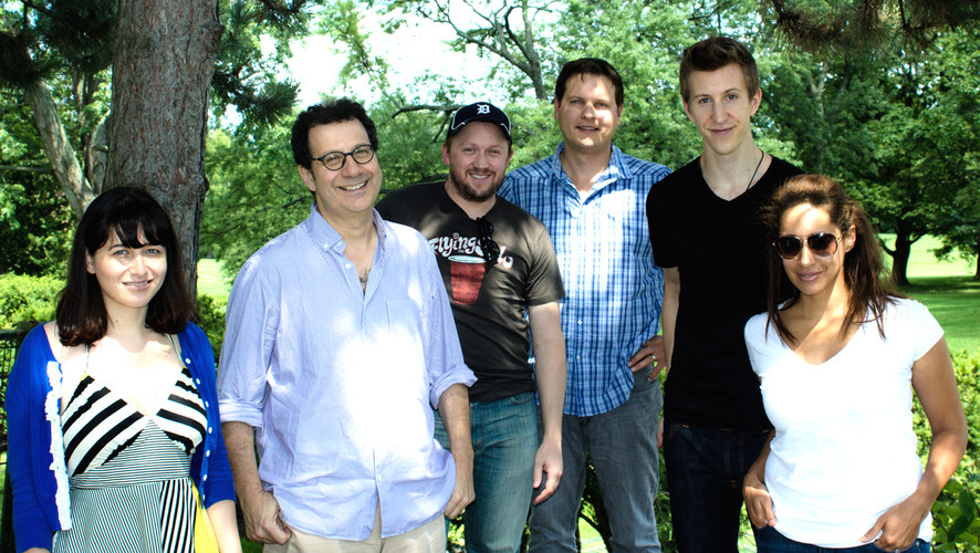 John Titley - CFC Writers' Lab with writer mentor Adam Brooks
