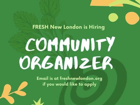 We are Hiring a Community Organizer!