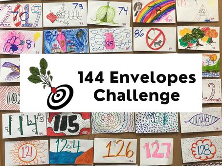 144 Envelopes Challenge!
