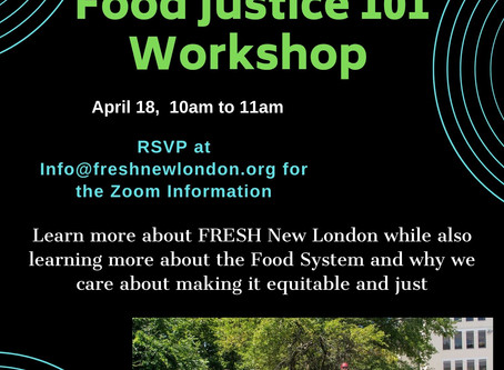Virtual Food Justice Workshop
