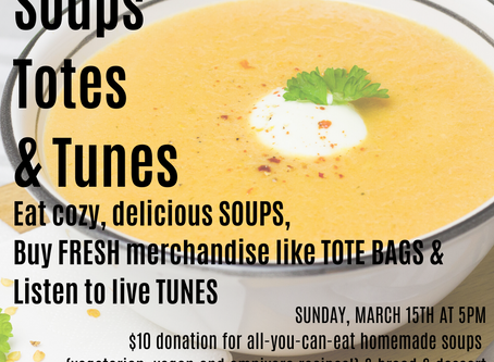 Soups, Totes and Tunes