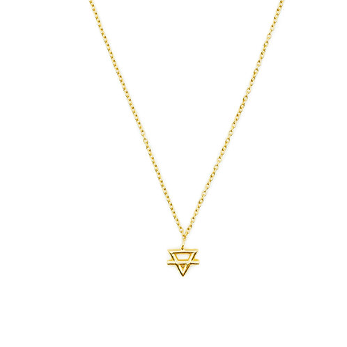 Gold Earth Element Necklace Pre-Order