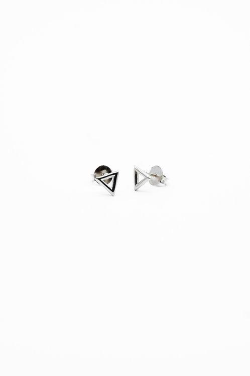 Silver Water Element Stud Earrings Pre-Order