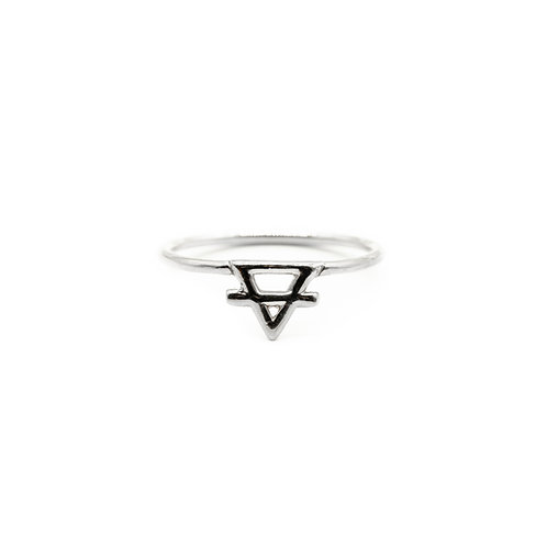 Silver Earth Element Ring Pre-Order