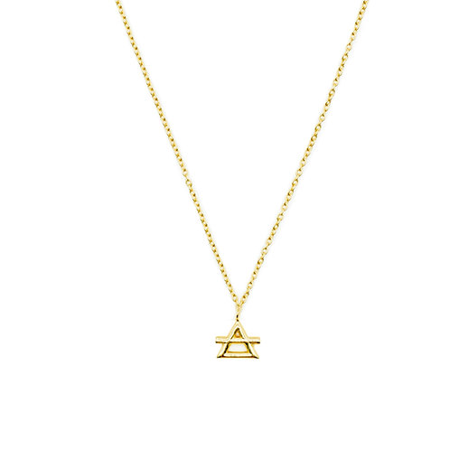 Gold Air Element Necklace Pre-Order