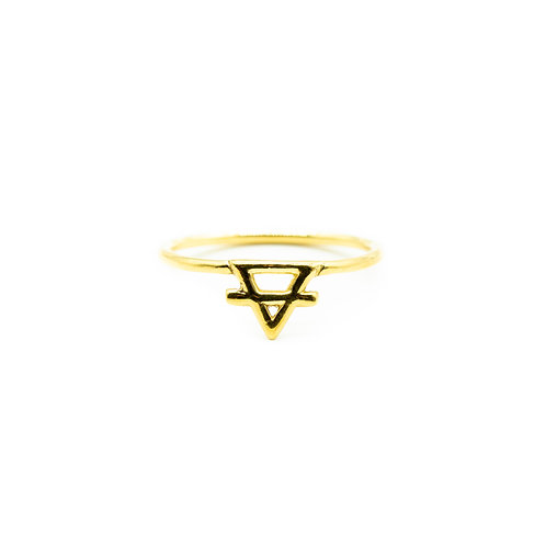 Gold Earth Element Ring Pre-Order