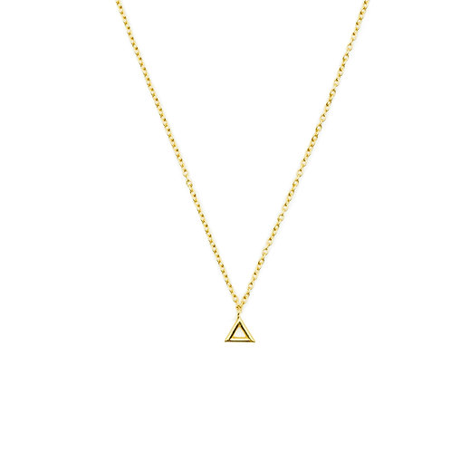 Gold Fire Element Necklace Pre-Order