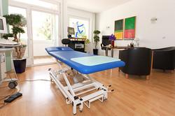 Behandlungszimmer Schmerztherapie