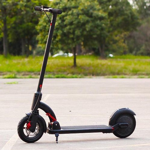 SUOTU R4 Electric Scooter 30km Range Top Speed35 km/h with 8.5' Tires Black