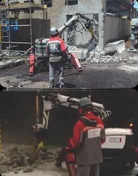 Demoliçao de Concreto Armado