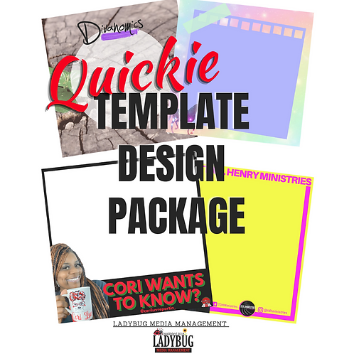 Quickie Template Design Pack