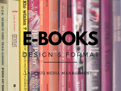 E-BOOK: Designs & Format