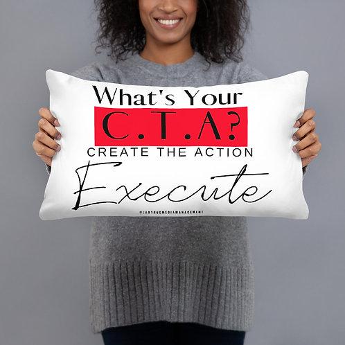 Basic C.T.A. Pillow (Ladybug Media Management)