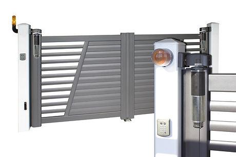 automatisme-integre-portail-battant-alu.