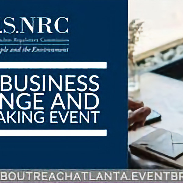 U.S. Nuclear Regulatory Commission: Small Business Exchange & Matchmaking Event